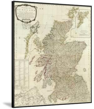 Composite: Scotland or North Britain, c.1790 by Robert Campbell