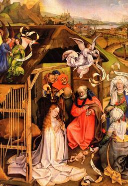 Robert Campin Birth of Christ Art Print Poster