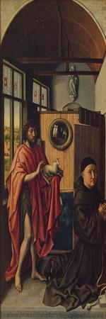 'St. John the Baptist and the Franciscan master Henry of Werl', 1438, (c1934)