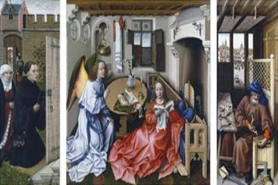 The Merode Altarpiece by Robert Campin