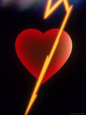 Abstract Heart by Robert Cattan