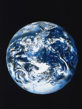 View of Earth from Space by Robert Cattan