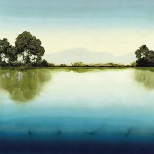Azure Lake by Robert Charon