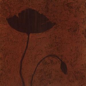 Poppy (Metallic) by Robert Charon