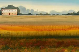 Tuscan Memory I by Robert Charon