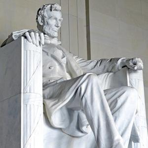 Abraham Lincoln Statue, Lincoln Memorial, Washington Dc, USA by robert cicchetti