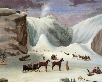 Ice Cone, Montmorency Falls by Robert Clow Todd