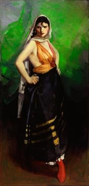 Betalo Rubino, Dramatic Dancer, 1916 by Robert Cozad Henri