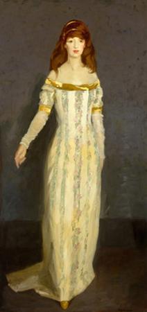 The Masquerade Dress, 1911 by Robert Cozad Henri