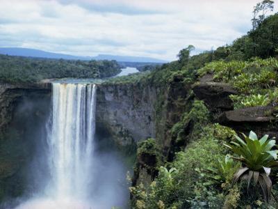 Kaieteur Falls, Guyana, South America by Robert Cundy