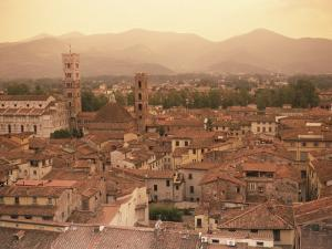 Lucca, Tuscany, Italy, Europe by Robert Cundy