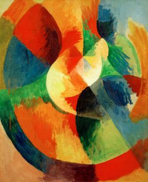 Circular Shapes, 1912/13 by Robert Delaunay