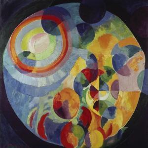 Circular Shapes, Sun and Moon, 1912/31 by Robert Delaunay
