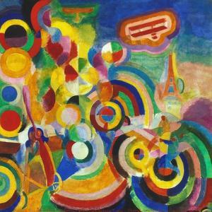 Delaunay: Hommage Bleriot by Robert Delaunay