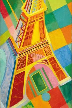 Eiffel Tower, 1926 by Robert Delaunay