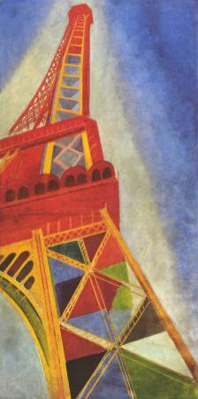 Eiffel Tower by Robert Delaunay