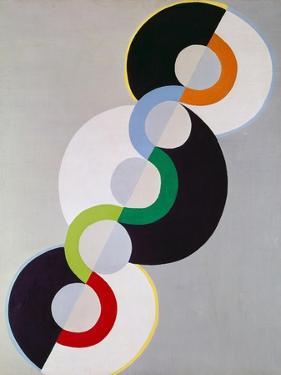 Endless Rhythm (Rythme sans fin). 1934 by Robert Delaunay