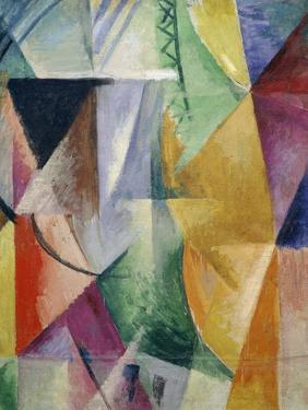 Fenster. Studie Fuer Drei Fenster, 1912 by Robert Delaunay
