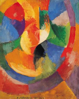 Formes Circulaires-Soleil #3 by Robert Delaunay