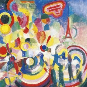 Homage to Bleriot, 1914 by Robert Delaunay