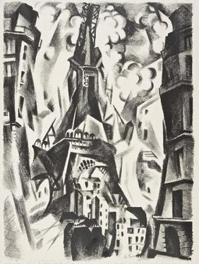 La Tour Eiffel by Robert Delaunay