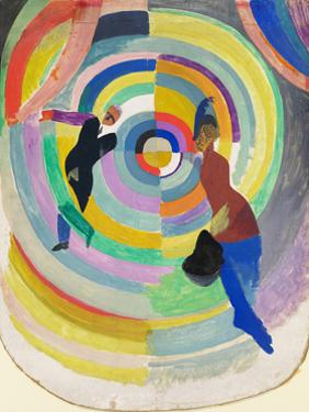 Political Drama, 1914 by Robert Delaunay