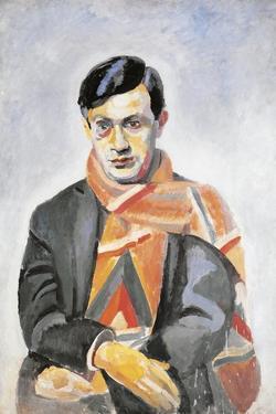 Portrait of Tristan Tzara, 1923 by Robert Delaunay