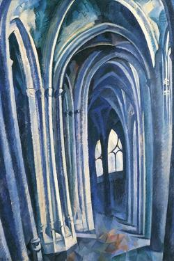 Saint-Séverin #1, 1909 by Robert Delaunay