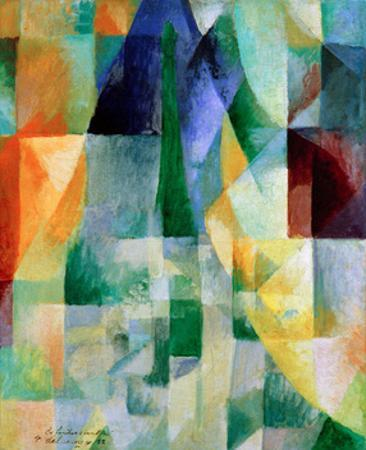 Simultaneous Windows, 1912 by Robert Delaunay