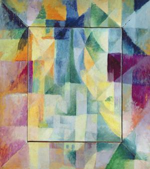 Simultaneous Windows on the City, 1912 by Robert Delaunay