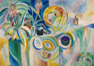Symphonie colorée by Robert Delaunay