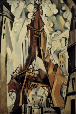 The Eiffel Tower, 1910 by Robert Delaunay