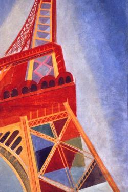The Eiffel Tower, 1926 by Robert Delaunay