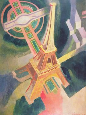 The Eiffel Tower, 1928 by Robert Delaunay