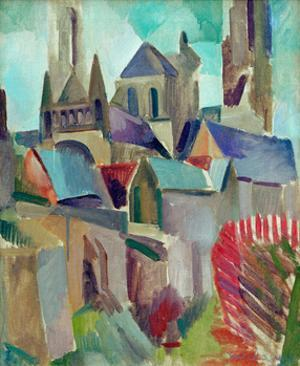 The Towers of Laon Study, 1912 by Robert Delaunay