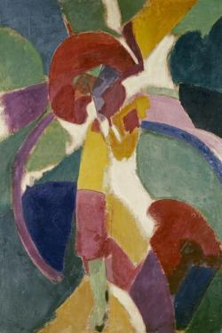Woman with a Parasol, 1913 by Robert Delaunay