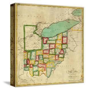 State of Ohio, c.1827 by Robert Desilver