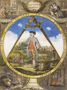 Keep Within the Compass circa 1784 by Robert Dighton