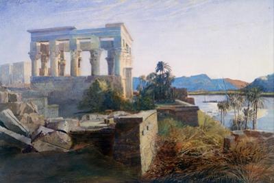 Philae, Egypt, 19th Century by Robert Dighton