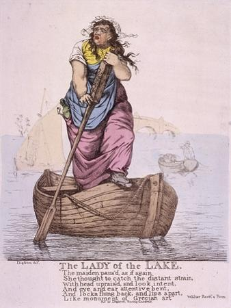 The Lady of the Lake..., 1810 by Robert Dighton