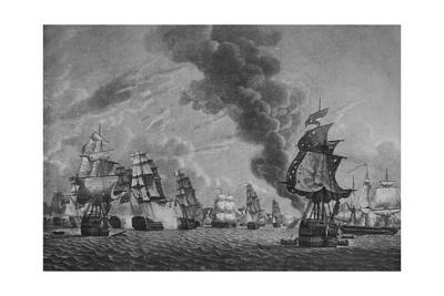 'Bridport off L'Orient', c1796