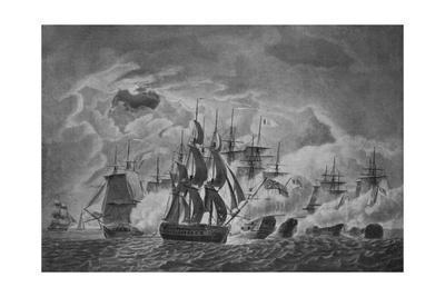 'Captain Trollope's Famous Action', c1800