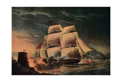 'Fortunate Escape of the 'Juno'', c1795