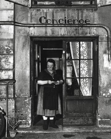 Concierge with Spectacles by Robert Doisneau