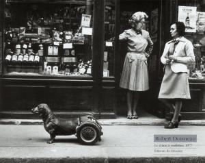 Le Chien a Roulettes, c.1977 by Robert Doisneau