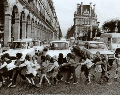 School Kids by Robert Doisneau