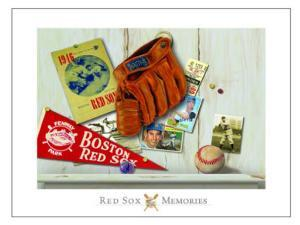 Vintage Red Sox by Robert Downs