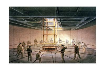 The laying of the transatlantic telegraph cable, 1865-1866