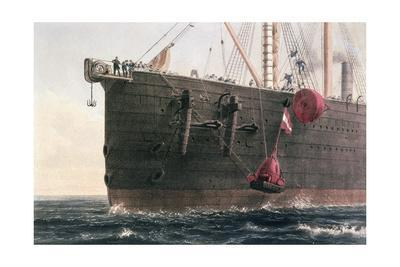 The laying of the transatlantic telegraph cable, August 8th, 1866