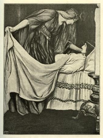 Tristan's death in Tristan und Isolde